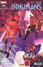 All-New Inhumans -4- Lances  célestes