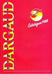 (Catalogues) Éditeurs, agences, festivals, fabricants de para-BD... - Catalogue 1988 - Dargaud