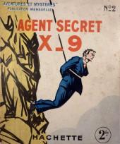 Agent Secret X-9 (Hachette - Aventures et Mystères) -2- Au-dessus de l'abîme