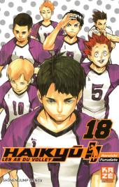 Haikyu !! Les As du Volley -18- Tome 18