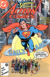 Action Comics (1938) -583- Whatever Happened to the Man of Tomorrow?, Part Two