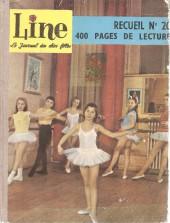 Line (Le journal des chics filles) -Rec20- Recueil N°20 (du n°272 au n°248)