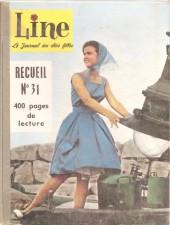 Line (Le journal des chics filles) -Rec31- Recueil N°31(du n°415 au n°428)