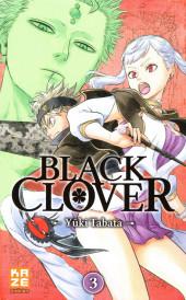 Black Clover -3- Tome 3
