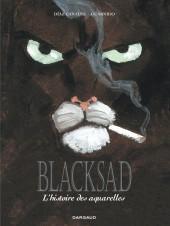 Blacksad -INTHS1/HS2- L'histoire des aquarelles