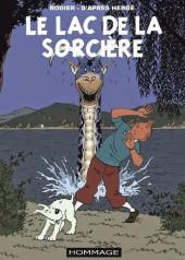 Tintin - Pastiches, parodies & pirates - Le lac de la sorcière