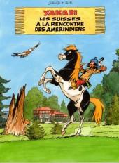 Yakari -Cat- Les Suisses à la rencontre des Amérindiens