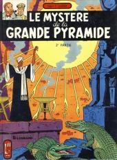 Blake et Mortimer (Historique) -4b82- Le Mystère de la Grande Pyramide - 2e partie
