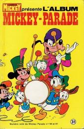 Mickey Parade -1REC031- 1re série - Album n°31 (n°50 et n°51)