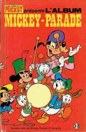 Mickey Parade -1REC032- 1re série - Album n°32 (n°52 et n°53)