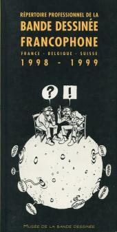 (DOC) Études et essais divers - Répertoire professionnel de la bande dessinée francophone - france-belgique-suisse - 1998-1999