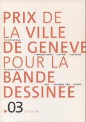 (Catalogue) Prix Töpffer de la ville de Genève -8- 2003