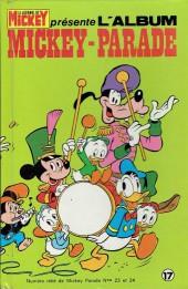 Mickey Parade -1REC017- 1re série - Album n°17 (n°23 et n°24)
