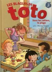 Les blagues de Toto -3a07- Sous les cahiers, la plage