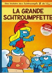 Les schtroumpfs -28Auchan- La Grande Schtroumpfette