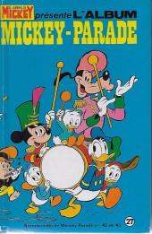Mickey Parade -1REC027- 1re série - Album N°27 (N°42 et N°43)