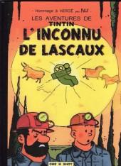 Tintin - Pastiches, parodies & pirates - L'inconnu de Lascaux