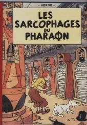 Tintin - Pastiches, parodies & pirates - Les sarcophages du pharaon