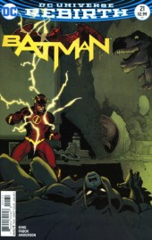 Batman (2016) -21B- The Button, Part One