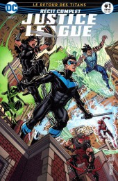 Justice League (Urban Presse) -1- Le Retour des Titans