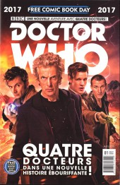 Free Comic Book Day 2017 (France) - Doctor who: quatre docteur