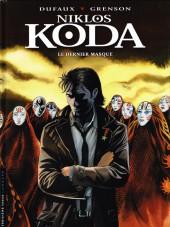 Niklos Koda -15- Le dernier masque