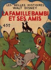 Les belles histoires Walt Disney (1re Série) -11- La famille Bambi et ses amis