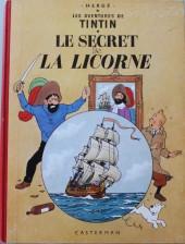 Tintin (Historique) -11B33- Le secret de la Licorne