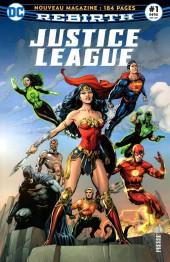 Justice League Rebirth (DC Presse) -1- Tome 1