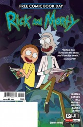 Rick and Morty (2015) -FCBD- Rick and Morty Free Comic Book Day 2017
