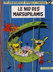 Spirou et Fantasio -12- Le nid des Marsupilamis