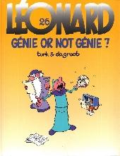 Léonard -26- Génie or not génie ?