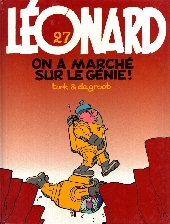 Léonard -27- On a marché sur le génie