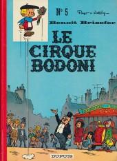 Benoît Brisefer -5- Le cirque Bodoni