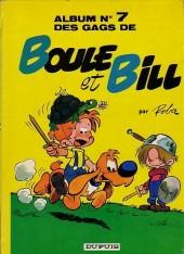 Boule et Bill -7- Album N° 7 des gags de Boule et Bill