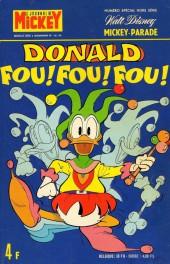 Mickey Parade (Suppl. Journal de Mickey) -37- Donald fou! fou! fou! (1182 bis)