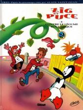 Zig et Puce (Lombard/Récréabull) -6- Zig et Puce contre le légume boulimique