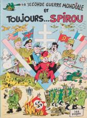 Spirou et Fantasio -2- (Divers) -4Deli- La seconde guerre mondiale et toujours Spirou