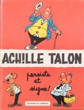 Achille Talon -3'- Achille Talon persiste et signe !