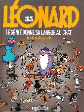 Léonard -35- Le génie donne sa langue au chat