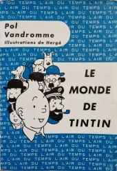 (AUT) Hergé -7- Le monde de Tintin