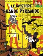Blake et Mortimer (Publicitaire) -4Esso- Le Mystère de la Grande Pyramide - Tome 1
