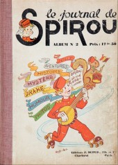 (Recueil) Spirou (Album du journal) -2- Spirou album du journal