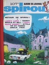 (Recueil) Spirou (Album du journal) -107- Spirou album du journal