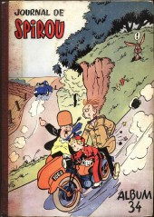 (Recueil) Spirou (Album du journal) -34- Spirou album du journal