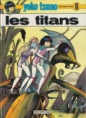 Yoko Tsuno -8- Les titans