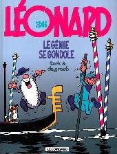 Léonard -36- Le génie se gondole