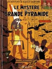 Blake et Mortimer (Éditions Blake et Mortimer) -4- Le mystère de la grande pyramide T1