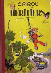 Spirou et Fantasio -4- Spirou et les héritiers