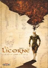 La licorne -1- Le Dernier Temple d'Asclépios